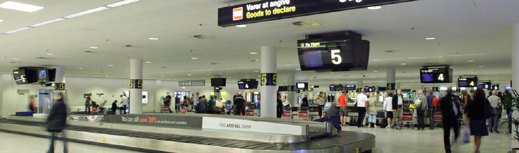 Оптимизация сортировки багажа в аэропорту Копенгагена